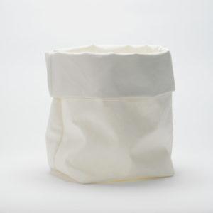 Worek, donica dekoracyjna, bianco L